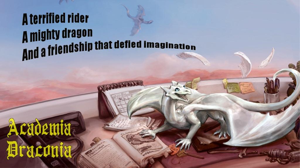 Academia Draconia - A Science Fantasy novel project video thumbnail