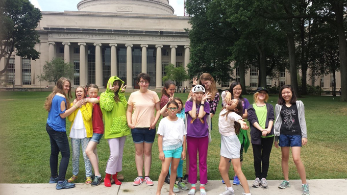 GMG Boston Campers at MIT! Can you spot the BlubBlubs?