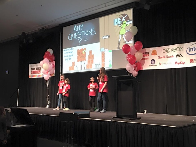 Team BlubBlub presenting their game!