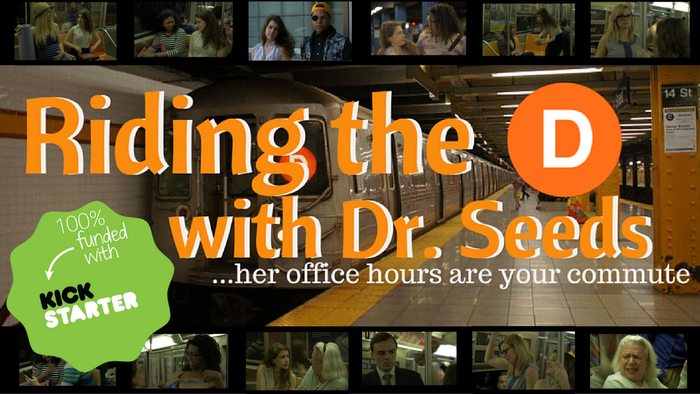 Dr. Seeds is an unhinged comedic series about a non-licensed psychiatrist changing lives on the subways of NYC.