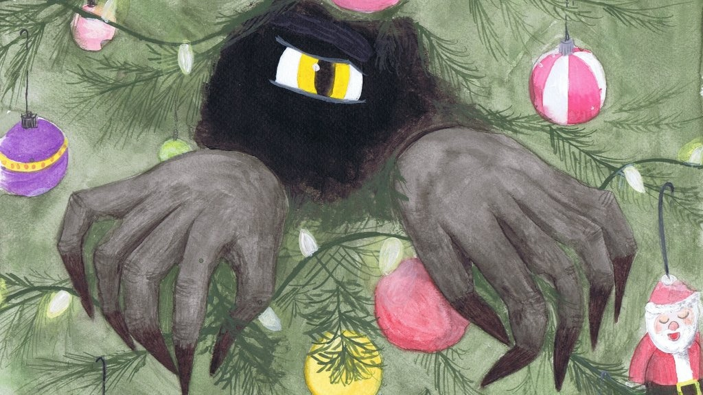 Krampus in the Corner picture book and plush toy project video thumbnail