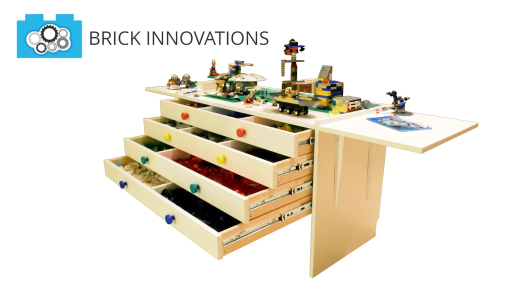 Brick BOSS Table: LEGO-Themed Build Table and Toy Storage project video thumbnail