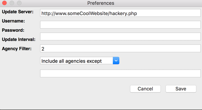 Dialog From a Config