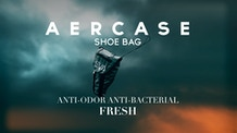 The Freshest Shoebag - Aercase. Anti-odor. Anti-bacterial.