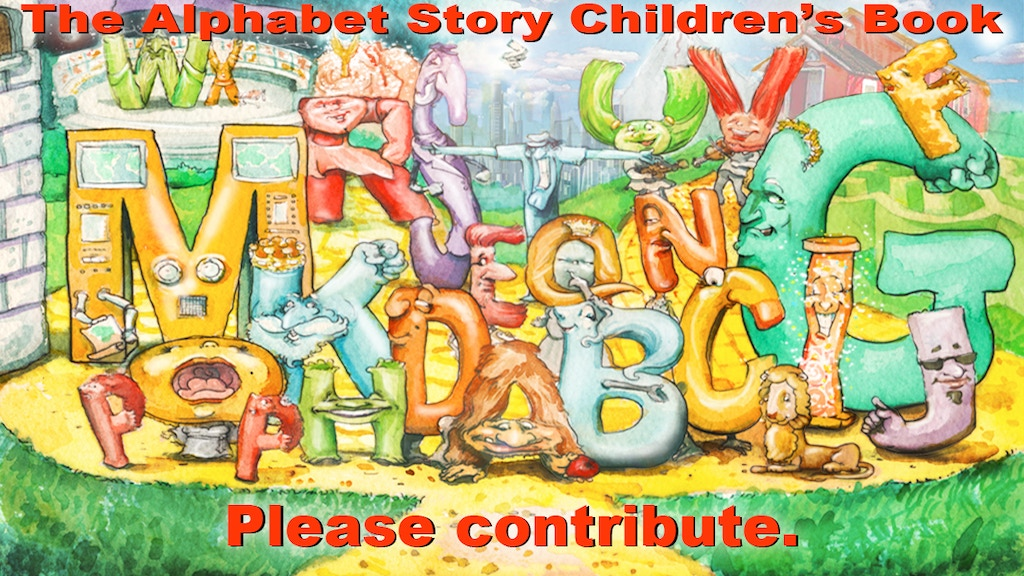 The Alphabet Story Children's Book project video thumbnail