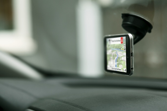 Forward Collision Warning and Traffic Sign Recognition with turn-by-turn navigation