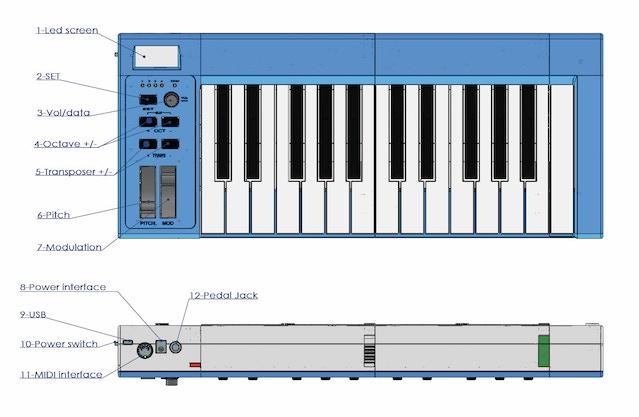 modular keyboard