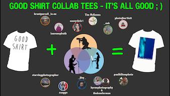 The Good Shirt Collab Launch - Saving Earth 1 tee @ a time