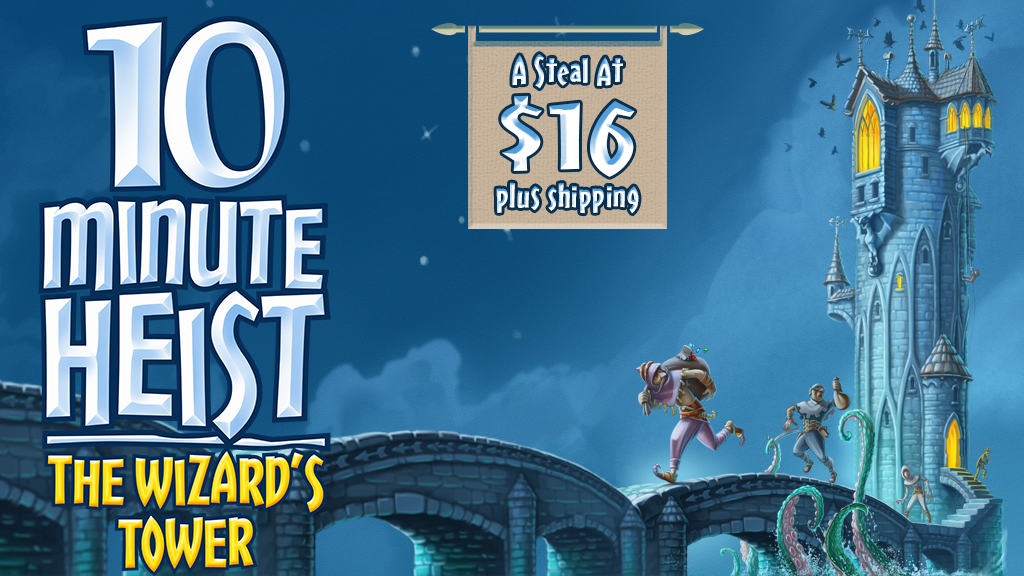 10 Minute Heist: The Wizard's Tower project video thumbnail