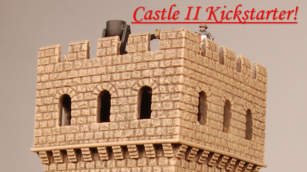 Castle II Kickstarter from Miniature Building Authority project video thumbnail