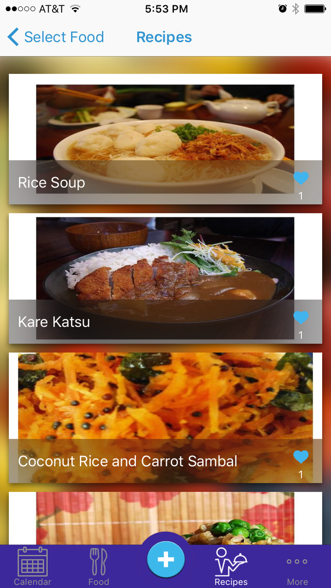 Some of the recipes found for rice with app