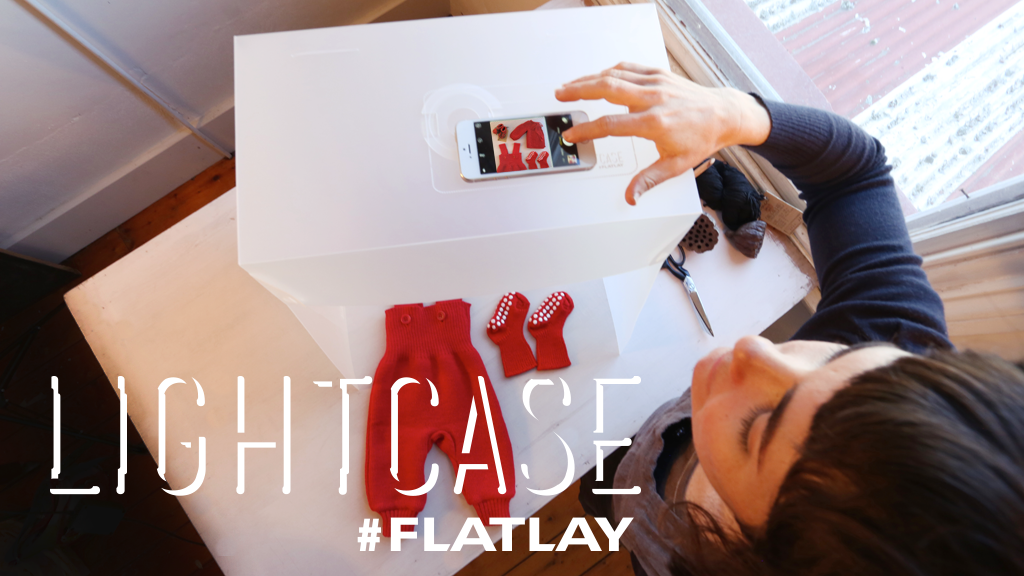 Lightcase #Flatlay. Photostudio for Instagrammers. project video thumbnail