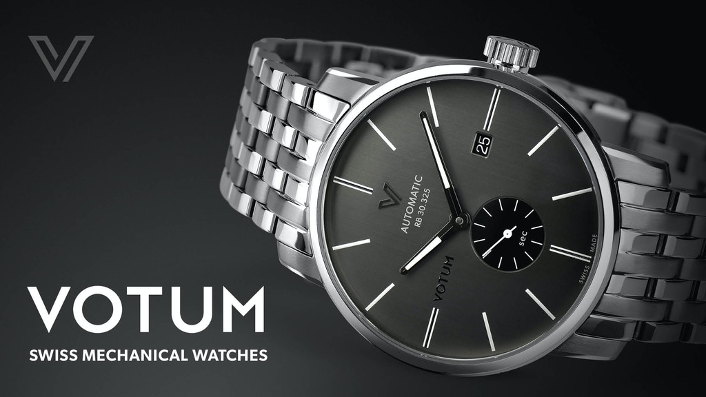 The Revival of Votum Swiss Mechanical Watches project video thumbnail