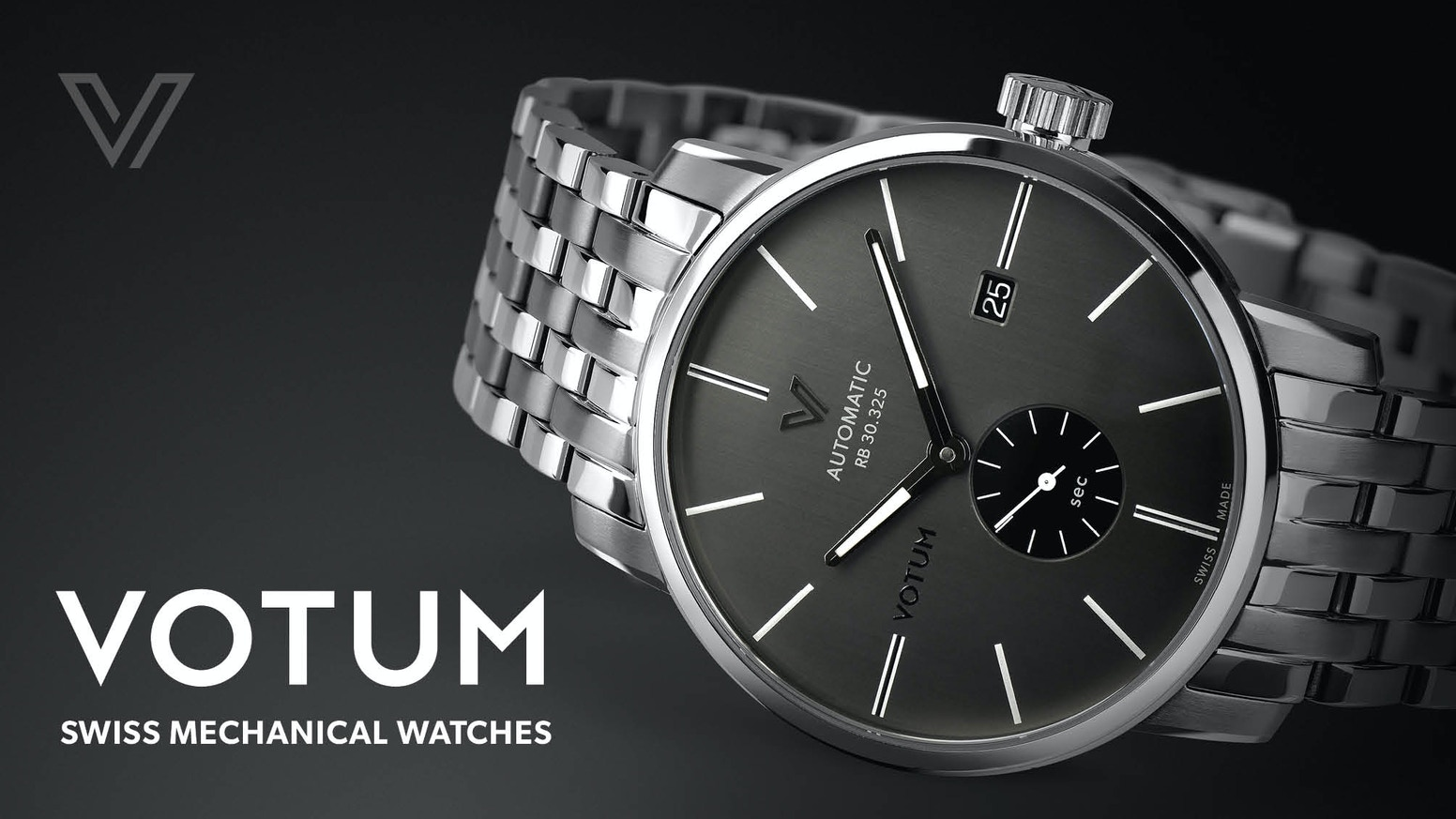 The Revival of Votum Mechanical Watches. Swiss Made since 1962.