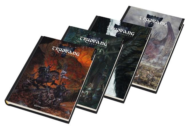 More books, more art, more Trudvang!