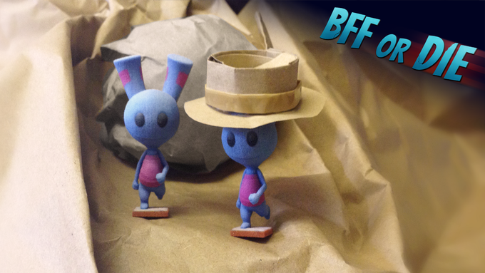 3D printed mini-figures are one of the rewards for backers!