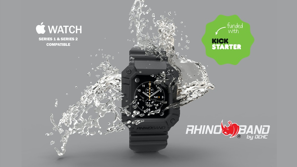 Rhino Band for Apple Watch project video thumbnail