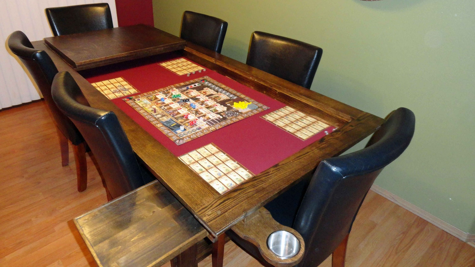 Gaming table the draken from nordic by nature