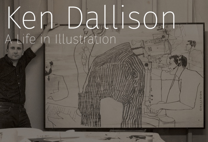 A deluxe hardcover art book showcasing the life and career of one of the world's most unique and prolific illustrators – Ken Dallison