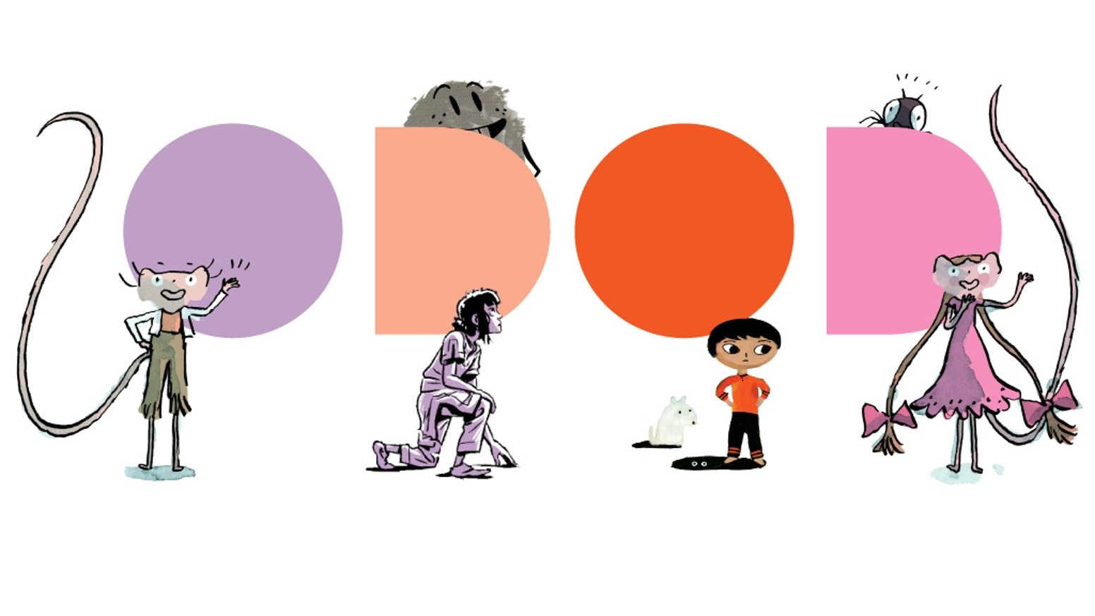 Odod Books is a new place for great comics for young readers. We want to spark creativity and imagination!