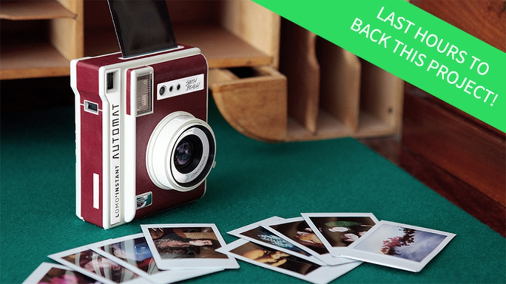 The Lomo'Instant Automat Camera project video thumbnail