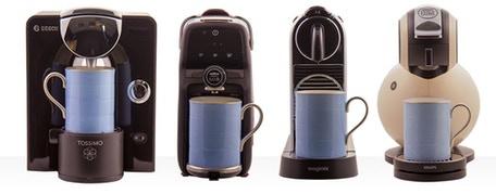 Fits all popular coffee machines