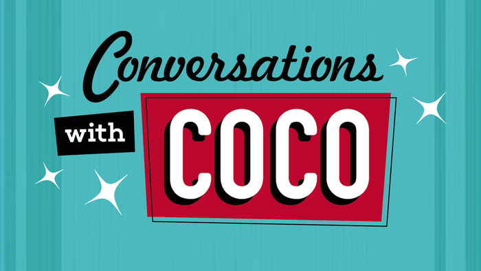 Drag icon Coco Peru's conversation show with Hollywood stars! Details: idolchat.media