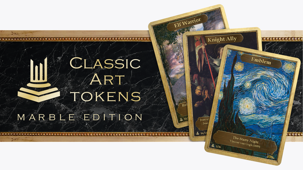 Classic Art Tokens: Marble Edition project video thumbnail
