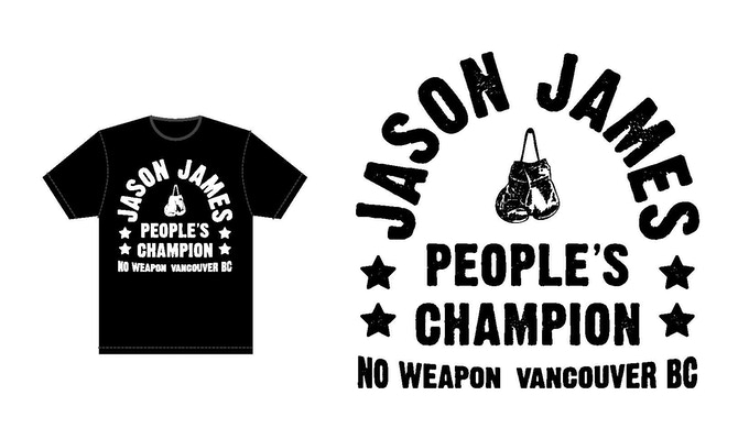 "Jason James ""People's Champion"" Design"
