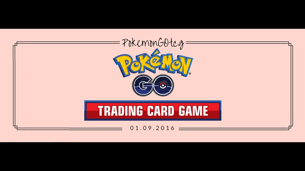 pokemon go collectible trading card game by lucio. Black Bedroom Furniture Sets. Home Design Ideas