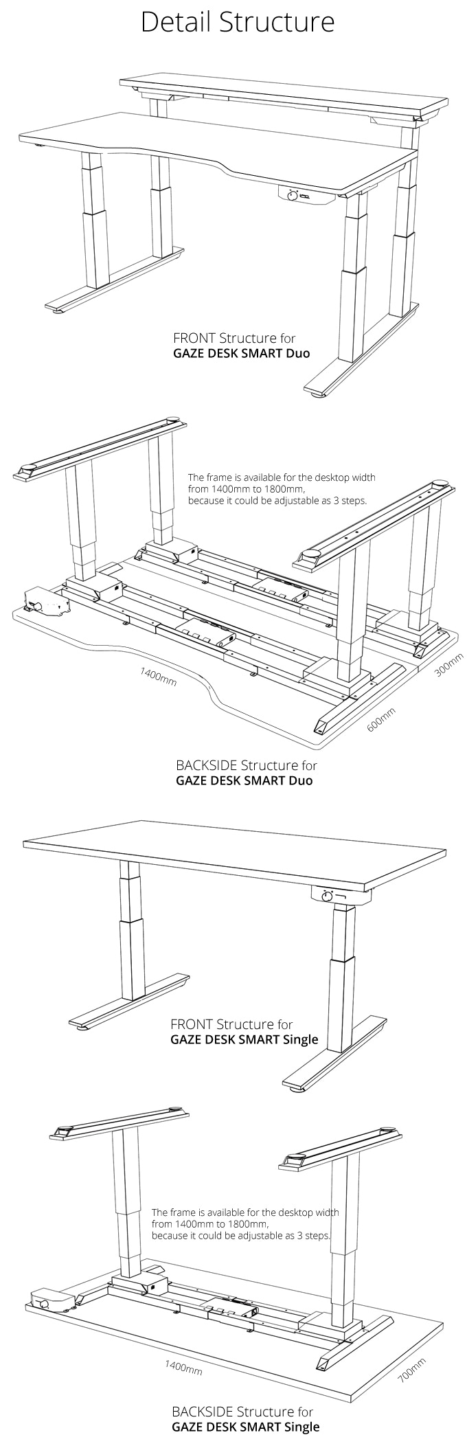 Gaze Desk The Smartest Standing Ever By Gazelab Kickstarter Cycle Country Electric Lift Wiring Diagram Technical Specs