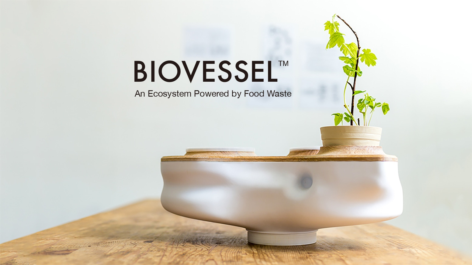 Waste No More: BIOVESSEL brings nature into urban homes for a sustainable lifestyle. Composting made possible for city-dwellers.