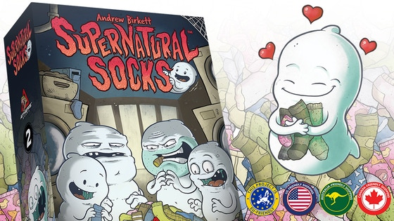 Supernatural Socks - A Tabletop Game About Lost Socks