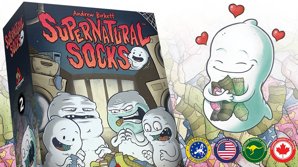 Supernatural Socks - A Tabletop Game About Lost Socks project video thumbnail