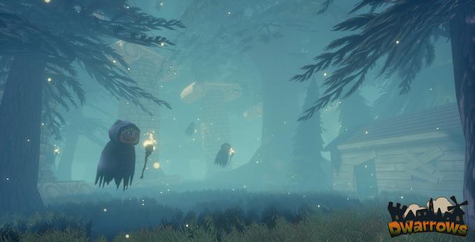 Ghosts approaching in Vigil Pines