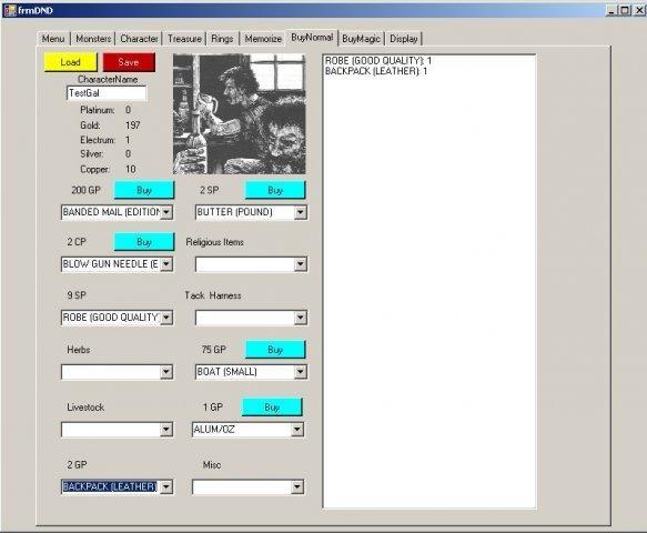 Fourth Sample Screen
