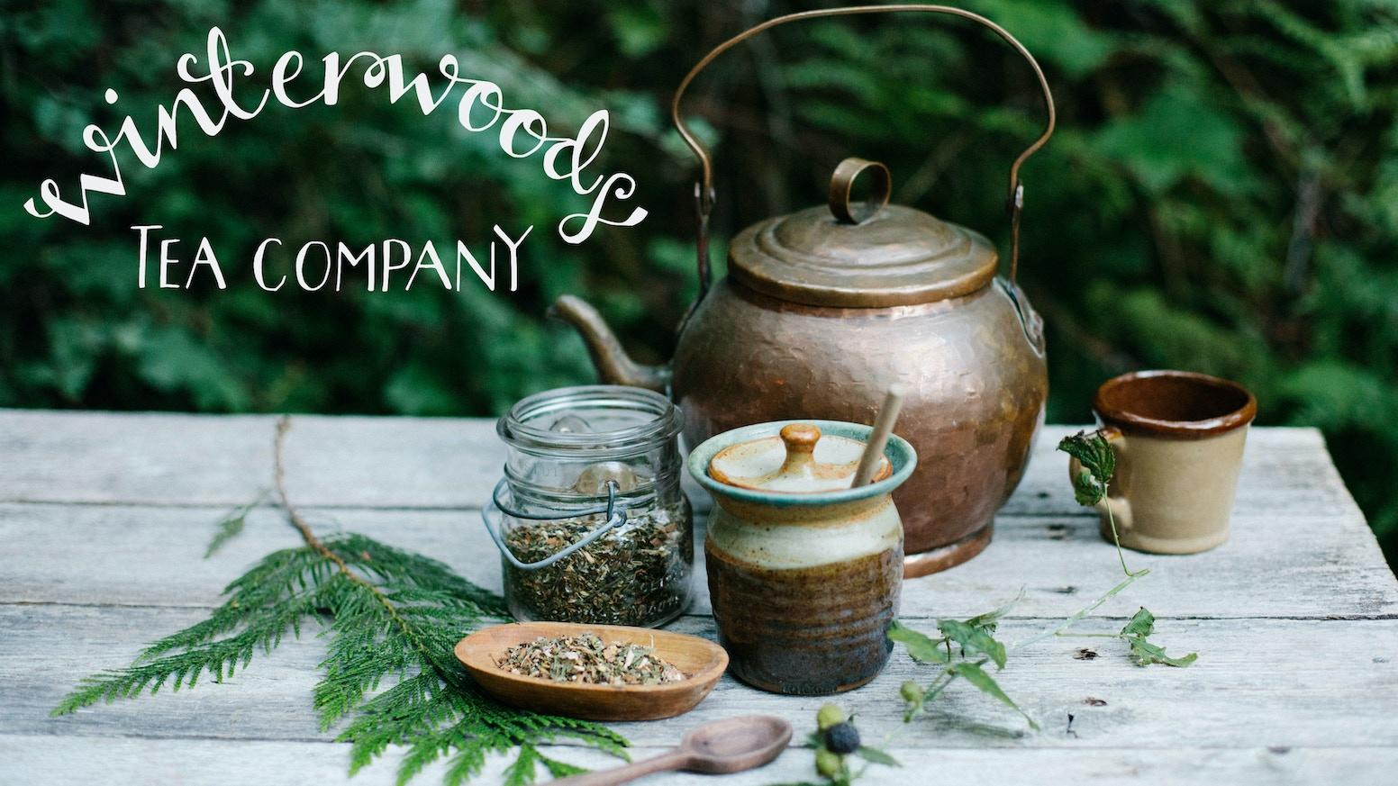 Blend gourmet herbal tea - Winterwoods Tea Company Pacific Northwest Tea Blends
