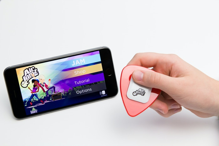 The connected toy that turns your moves into music. AirJamz gives everyone the feeling of being musical.