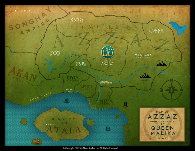 The Map of Azzaz