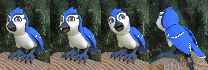 The Finished BlueJay