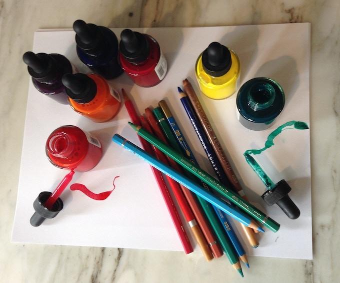 Alessandra's coloring tools