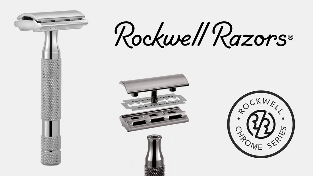Rockwell Chrome Series - Classic, Adjustable Safety Razors project video thumbnail