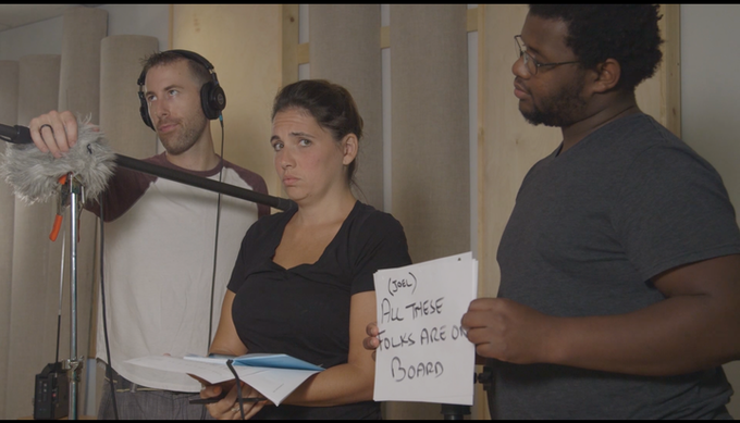 Ben, Kathleen and Will are just three of the amazing locals helping to make this movie happen!