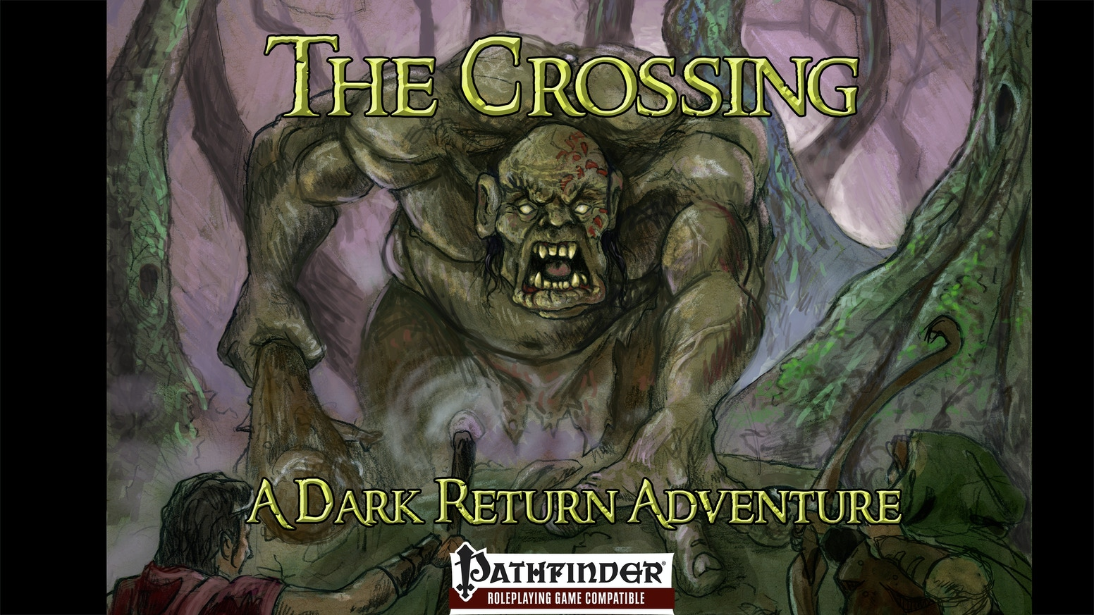 The 3rd book in the Return of the Fey adventure path - The Crossing, a 4th level Pathfinder/5E/SagaBorn/SDL Compatible FRPG Adventure.