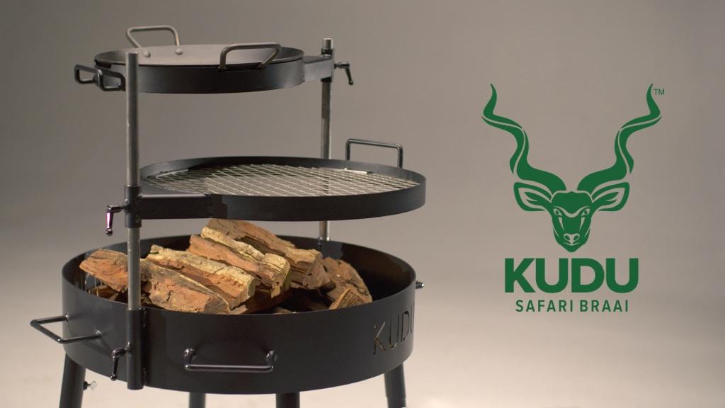 KUDU Safari Braai Grill project video thumbnail