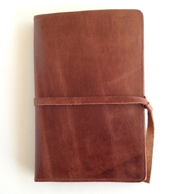 Karama Leather Journal cover made in Ethiopia