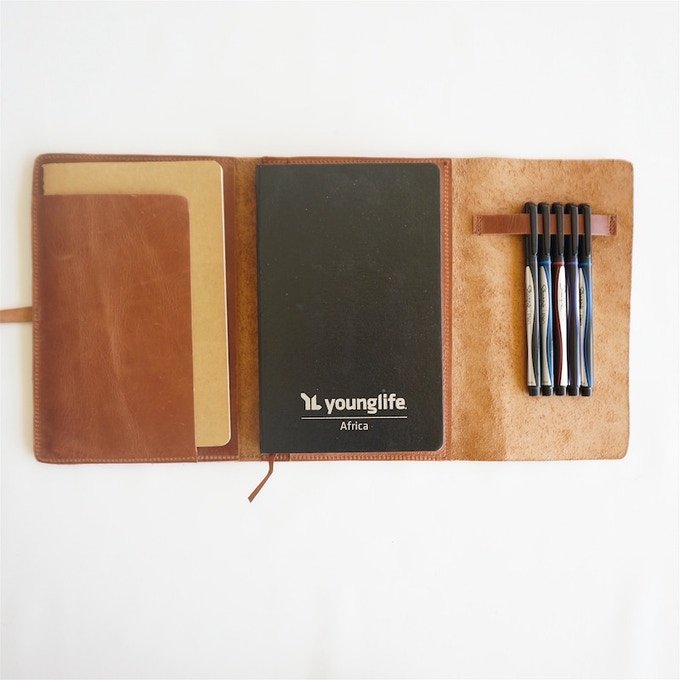 Karama Leather Journal cover (with special note from me inside : )