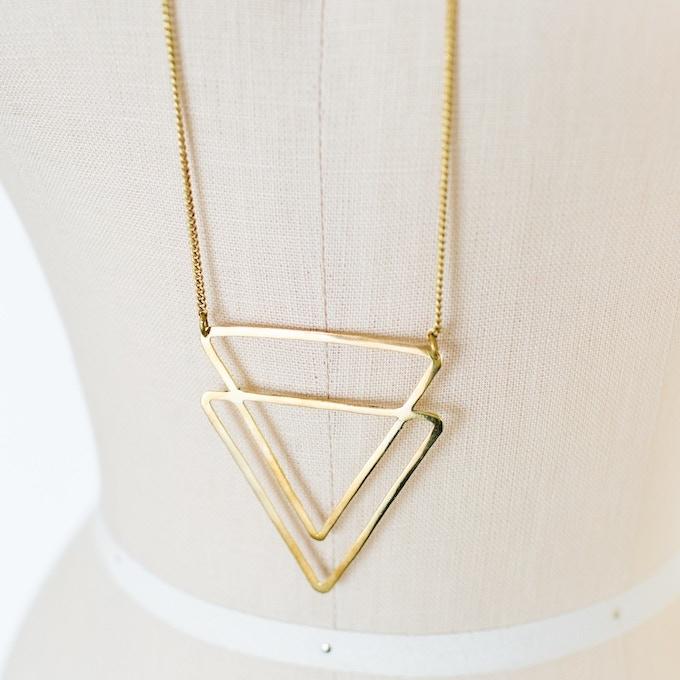 Mapacha necklace close up