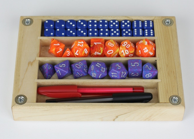Maple Dice Tray (Other species will be unlocked)