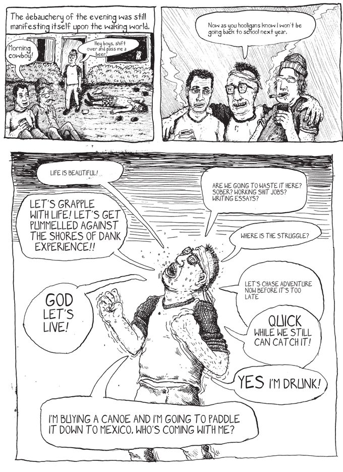 Dirty Water Comics Presents: Canoe Boys Graphic Novel by